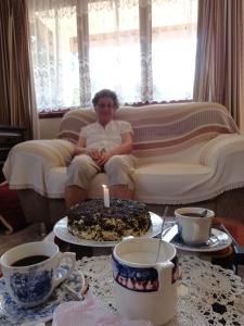 25 de Dezembro de 2012. Aniversário da Vovó Marguerite.