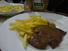 Fígado e Fritas