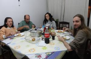 Jantar-teste na casa do Bom Marido